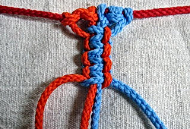 или правые) плоские узлы,