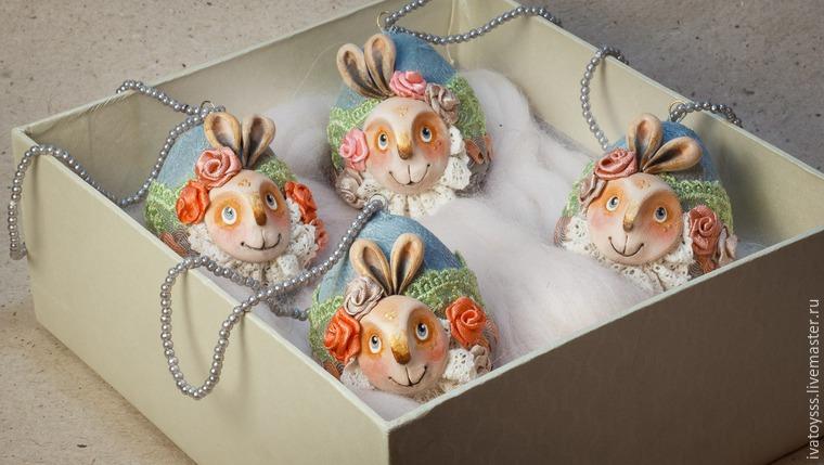 Делаем пасхальные яйца для праздничного интерьера, фото № 19