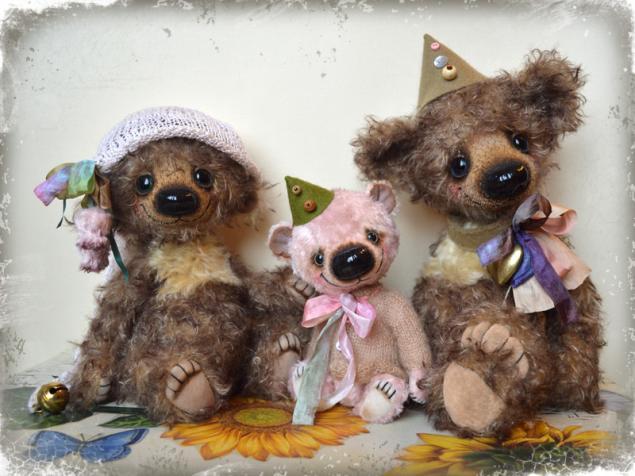 салон кукол, выставка мишек