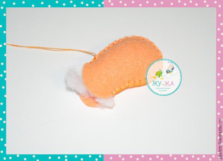 Шьём мягкую игрушку «Лёвушка» из фетра, фото № 9
