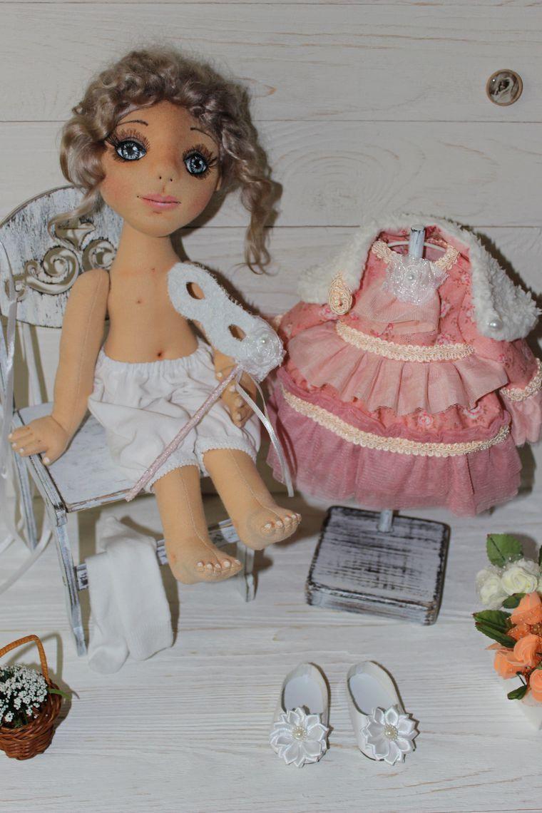 куклы, шью сама, интерьерная игрушка