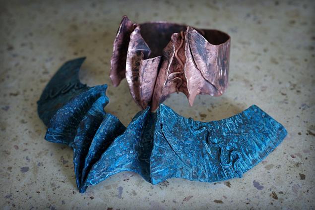 украшения, листовая медь, медь