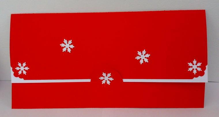 конверт, пуатенсия, рождество, подарок на новый год