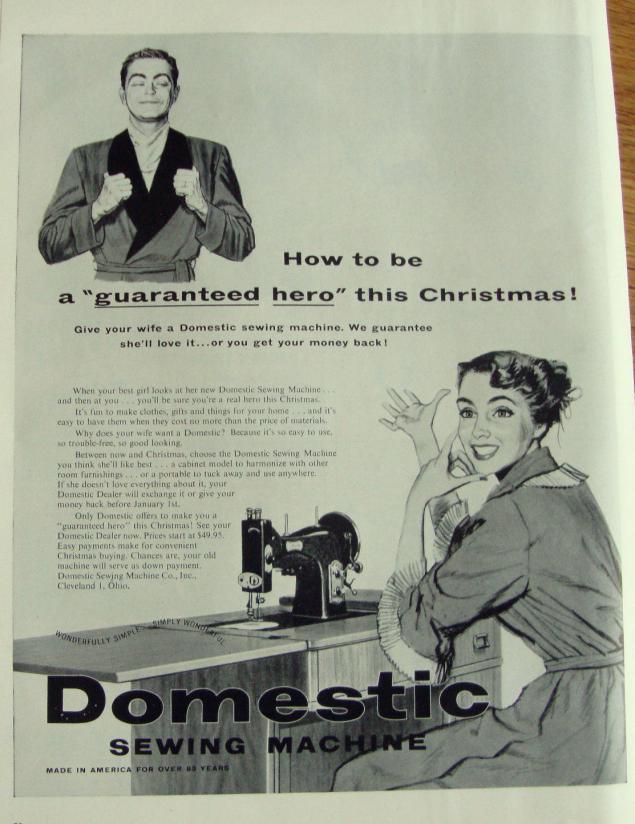 Новогодняя реклама Vintage/1951 -1956 включительно, фото № 28