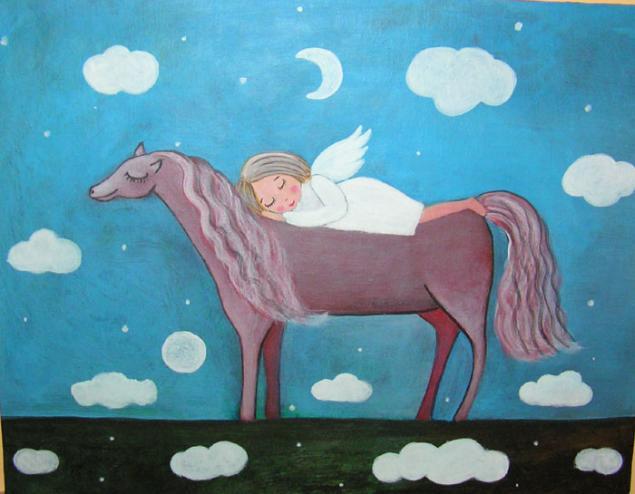 ангел, картина ангелом