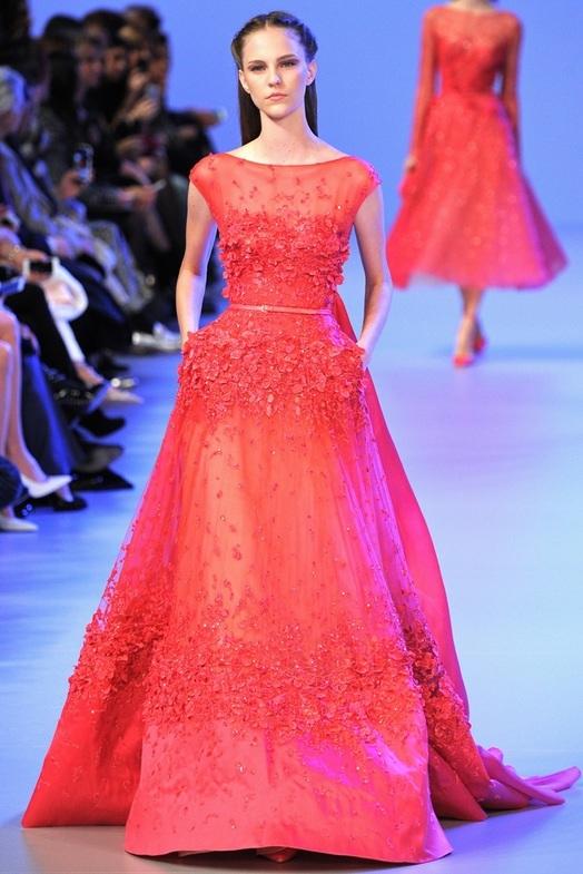 Elie Saab Haute Couture Весна-Лето 2014, фото № 15