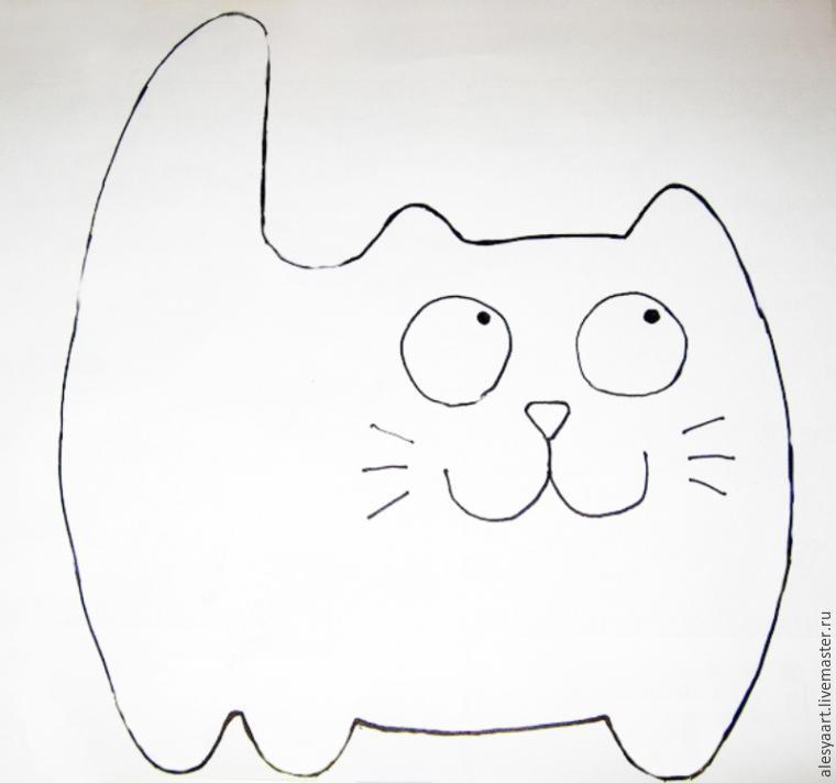 Кот тильда выкройка фото