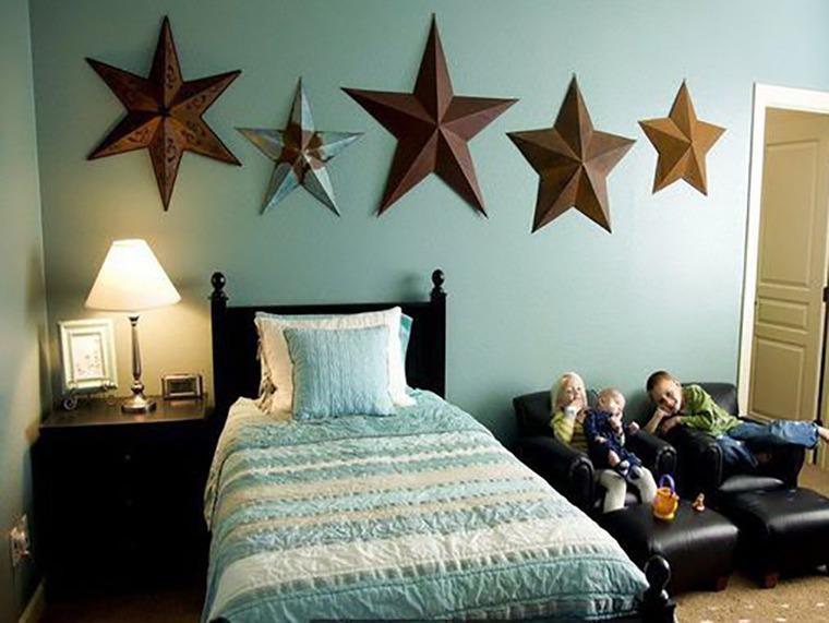 73a4915003e97d1 Звезды в интерьере: 20 интересных вариантов декора – Ярмарка Мастеров