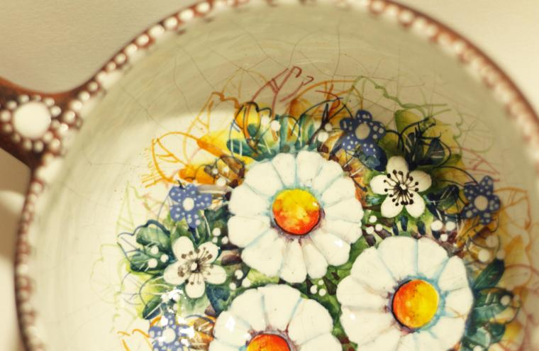 керамика ручной работы, гончарный круг