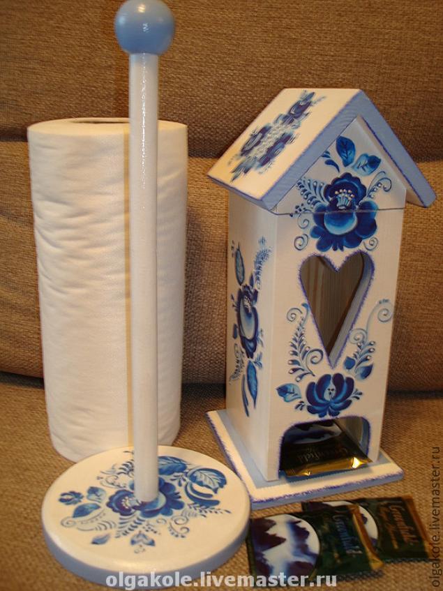 Подставка для полотенец бумажных своими руками