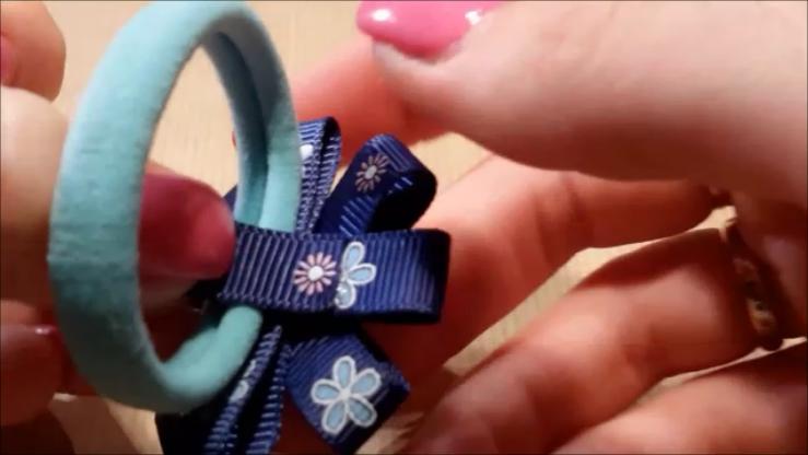 Как сделать резиночку на руку