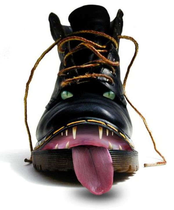 Смешные ботинки фото