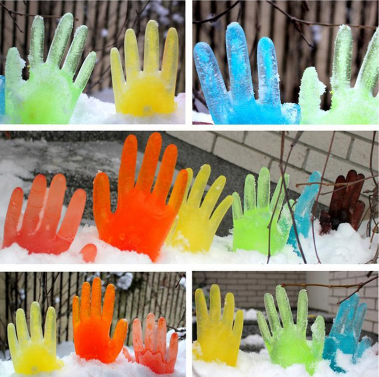 Украсить двор на новый год своими руками