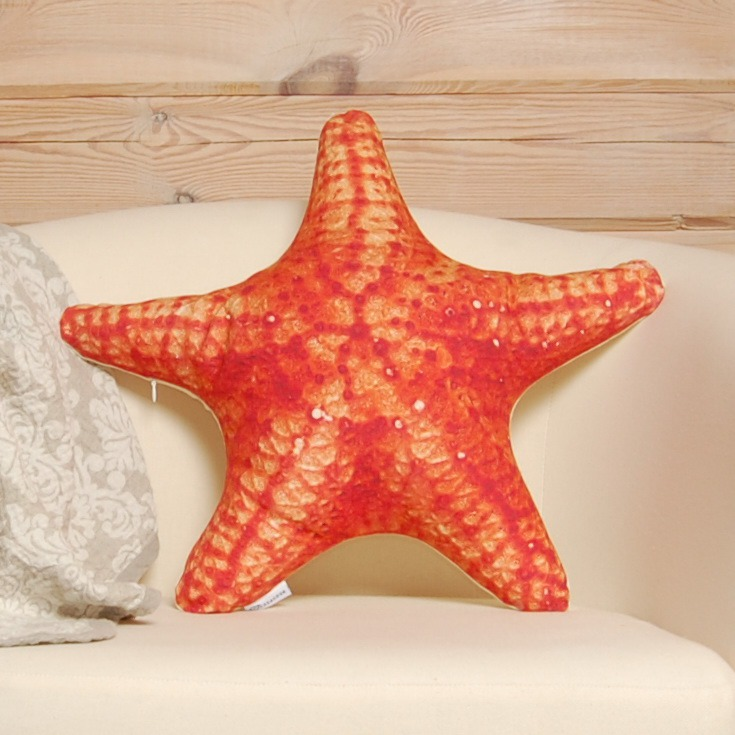 Подушка морская звезда
