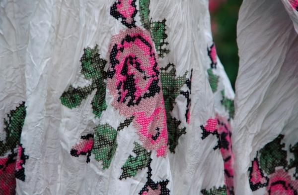 модели  и ткани