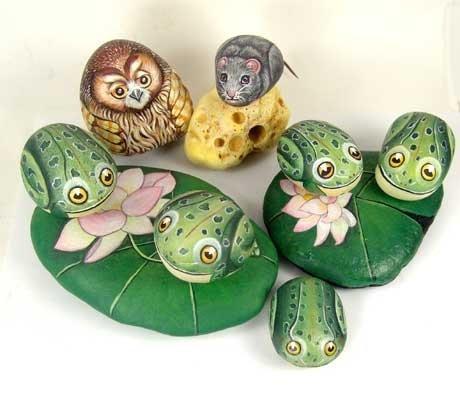 рисунок на камне, камень рисунок бабочка