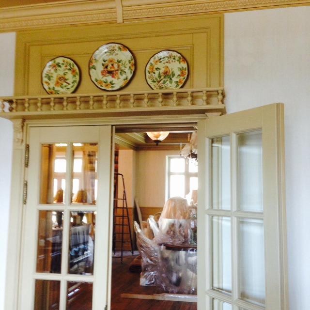 Декорирование стен тарелками, фото № 3