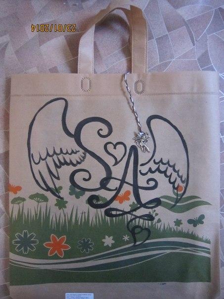 Ура!!! у Меня Появились Персональные Эко-сумки!!!, фото № 4