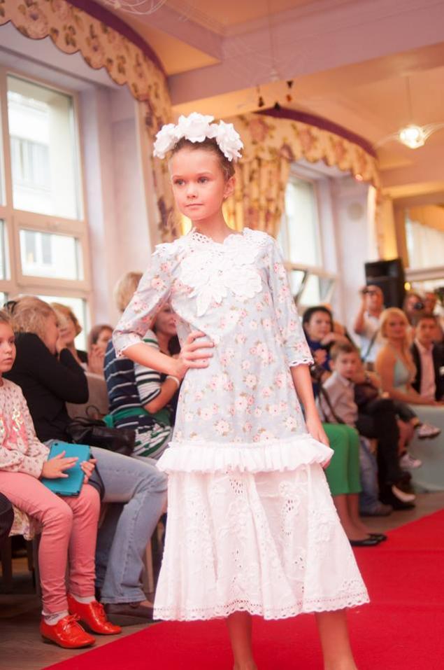 одежда для детей, платье вязаное