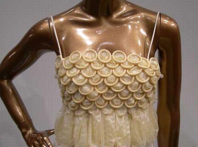 одежда из презервативов