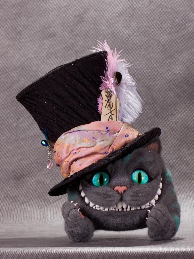Чеширский кот из алисы в стране чудес своими руками