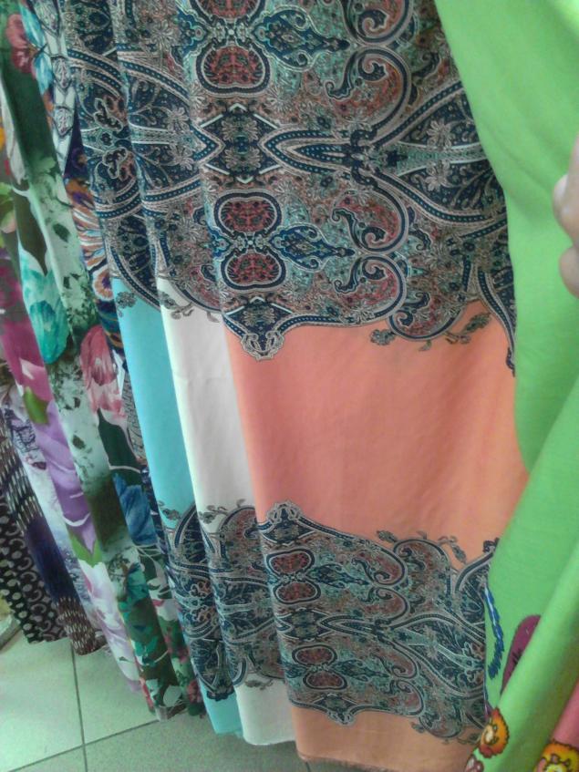 ткань на летние юбки