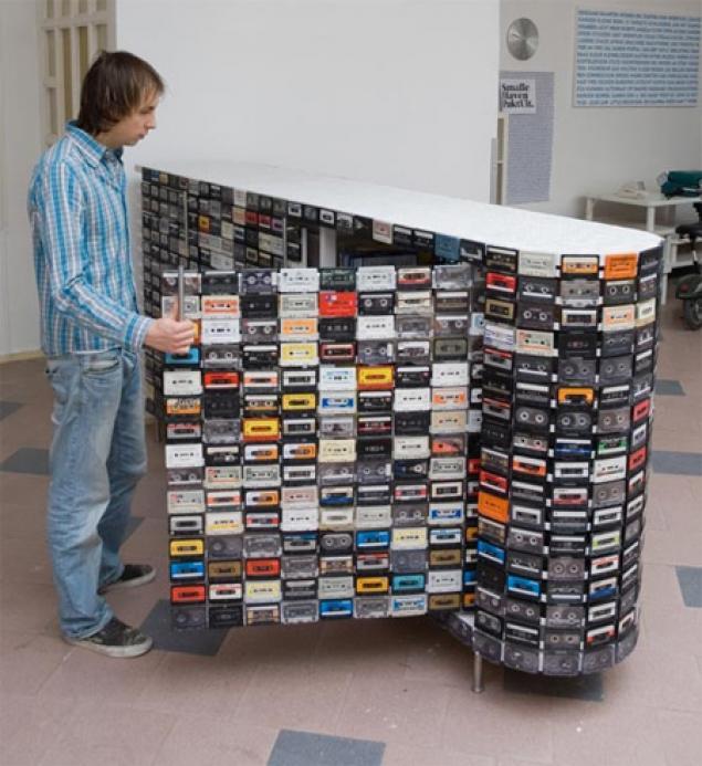 Что можно сделать из старых кассет