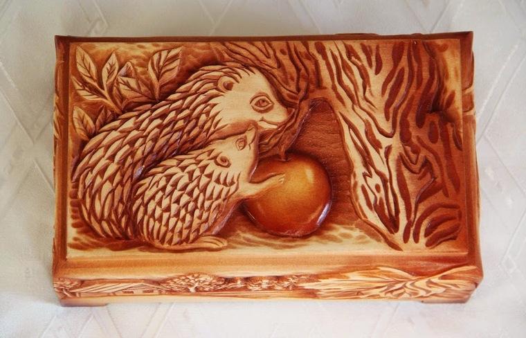 резьба, деревянный