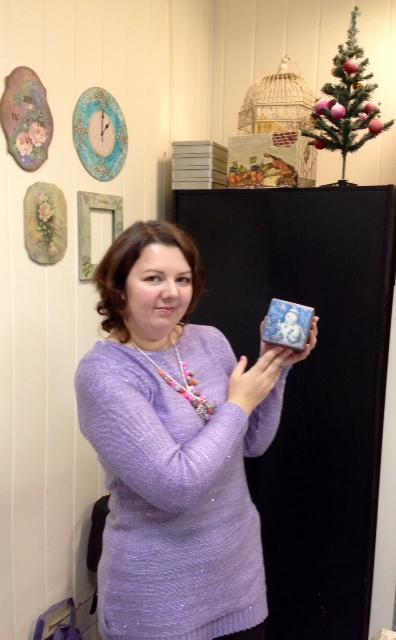 Набор интерьерных кубиков - прекрасный новогодний подарок! Новинка нашей студии!, фото № 4