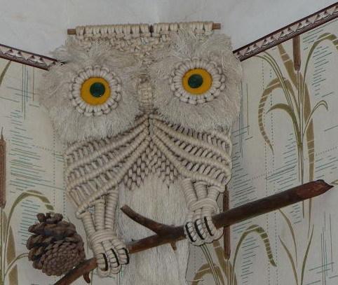 Урок плетения совы