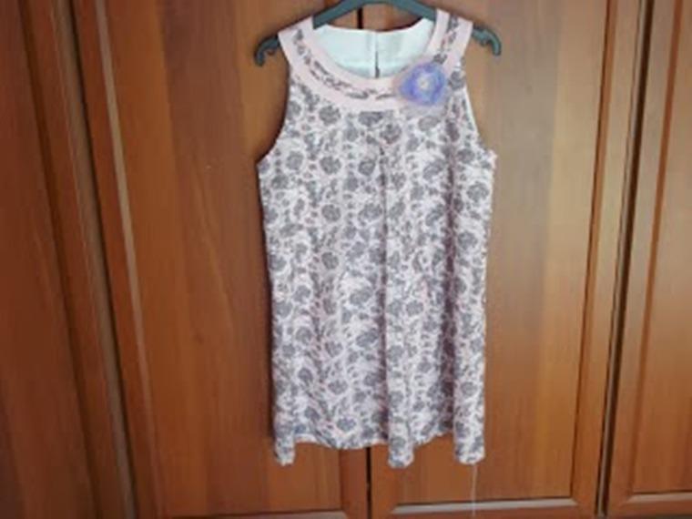 платье для девочки, выкройки