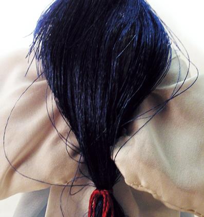 волосы ситетика кудрявые как нитка как пришить кукле