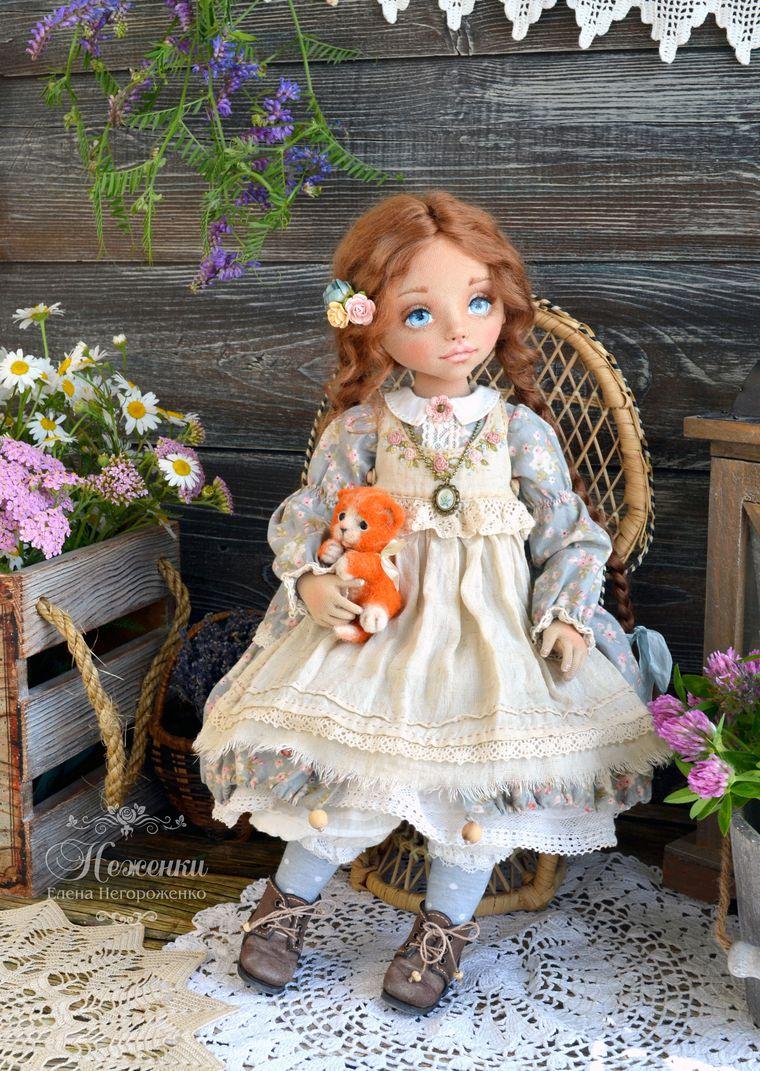 авторская кукла, радость