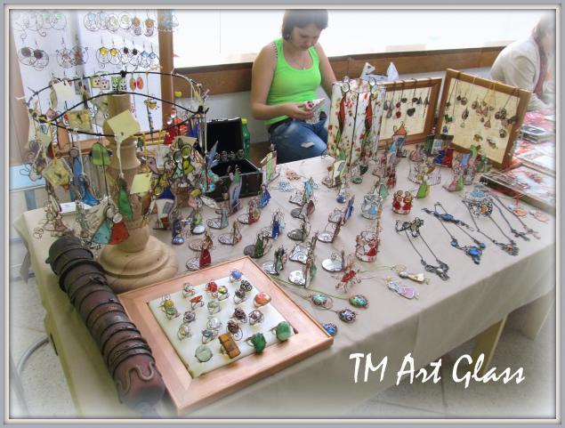 ярмарка, витраж тиффани, творческая мастерская, стекло