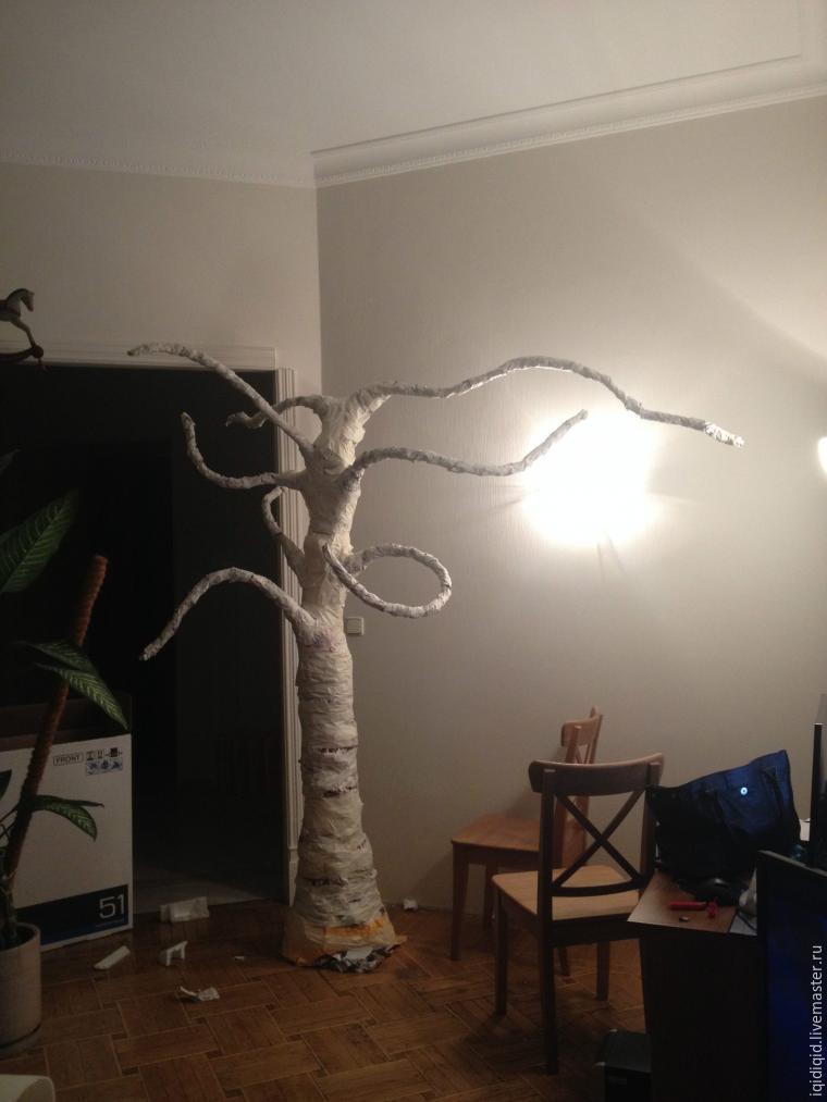 дерево, iqidstore ручной работы