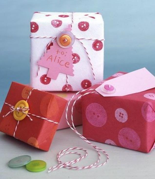 Подарки из коробок на новый год своими
