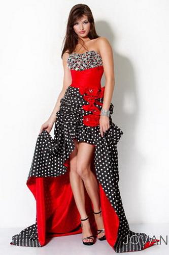 платья в горошек