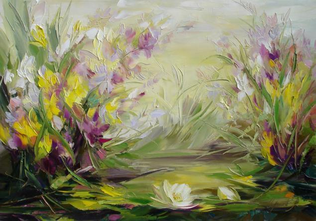 цветы, мастехин, пионы