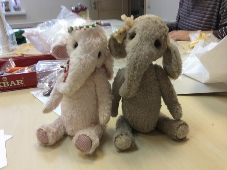 анна дудицкая, авторская игрушка, слоник, слоник тедди