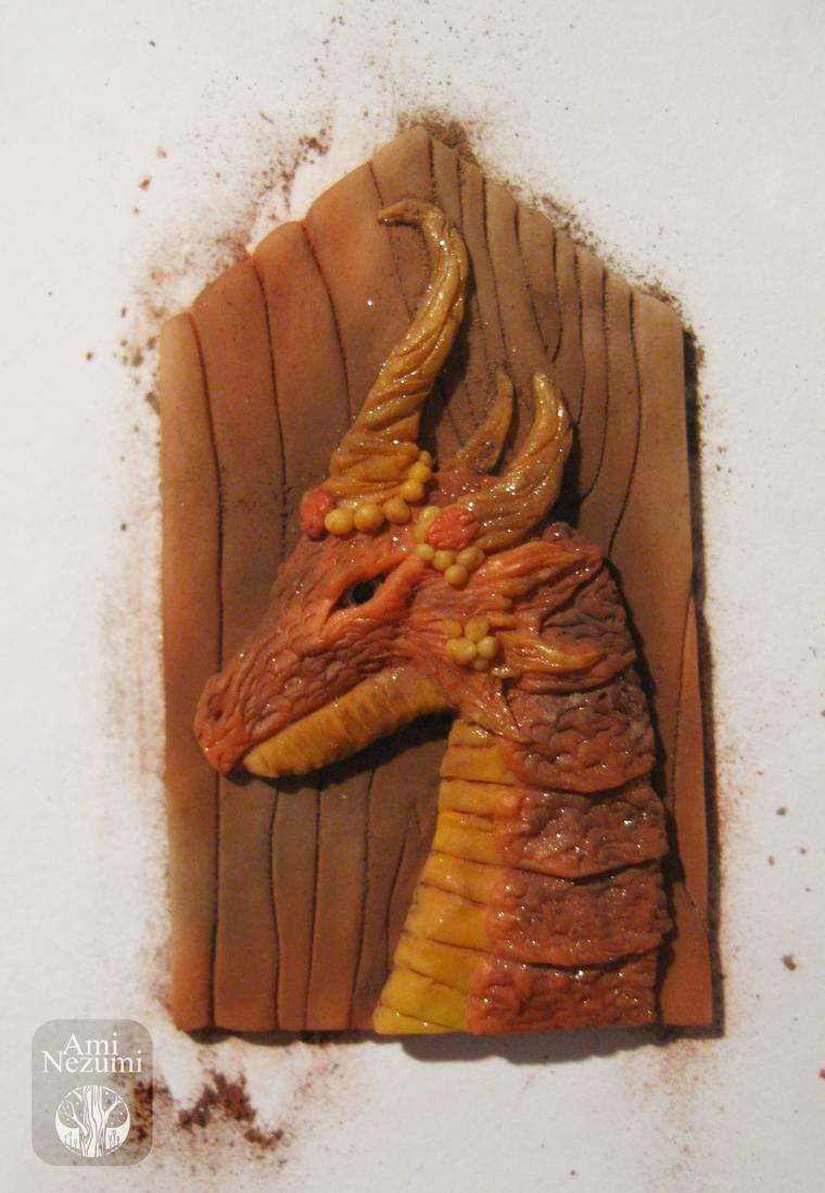 дракон, пластика