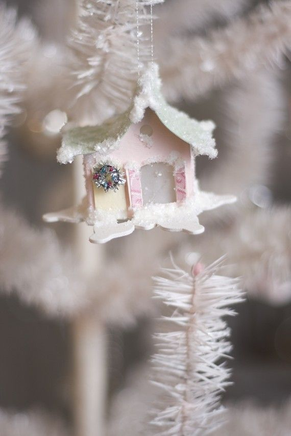 tiny Christmas house