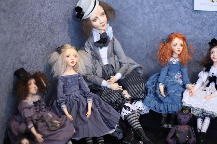 Международной выставка авторских кукол и мишек «Панна DOLL'я» в Минске. Часть 1., фото № 23