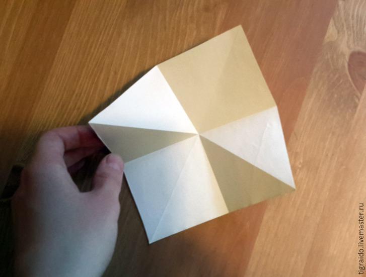 Оригами: пасхальная курочка, фото № 3