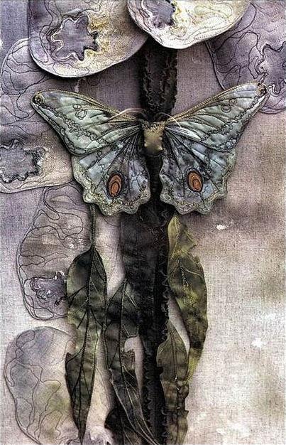 Текстильные шедевры, или Бабочки как источник вдохновения, фото № 9