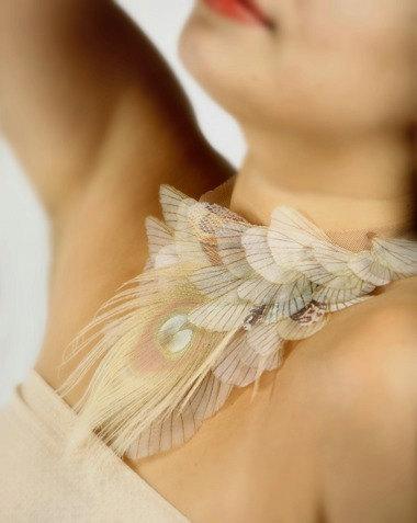 Крылья бабочки из шифона своими руками