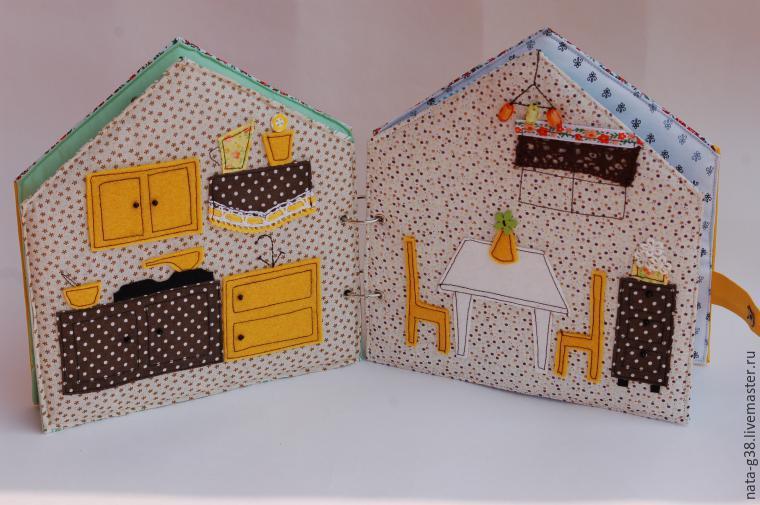 Как сшить кукольный домик своими руками с пошаговым