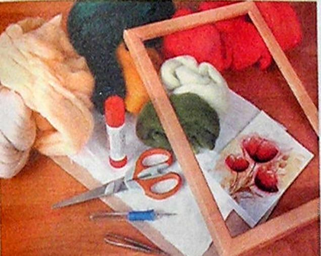 Рисуем шерстью мастер класс