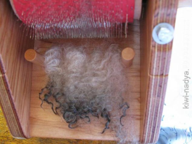 шерсть для прядения