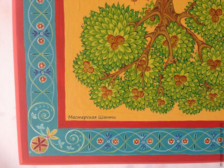 Расписываем яркую шкатулку-развивайку для детей, фото № 27