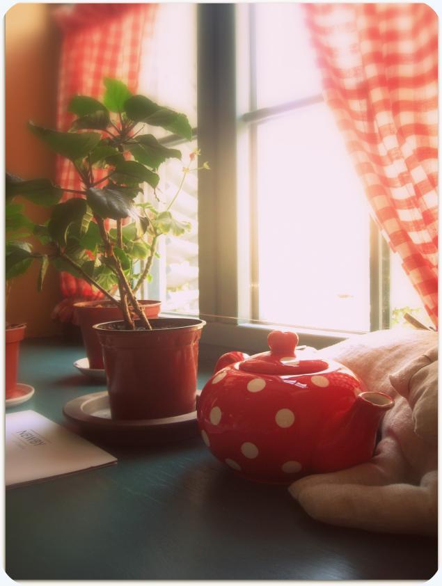 осень, чаепитие